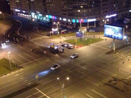 Иномарка протаранила машину «скорой» наБухарестской