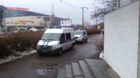 Полиция бдит.