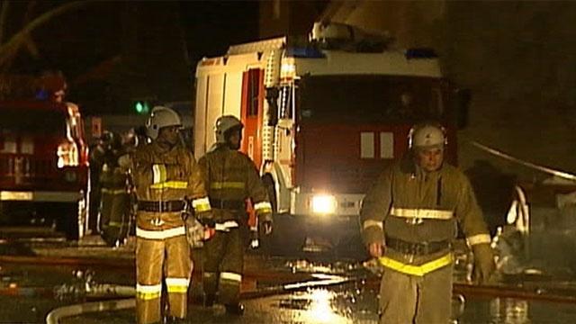 Граждане дома наБелградской провели ночь наулице из-за пожара