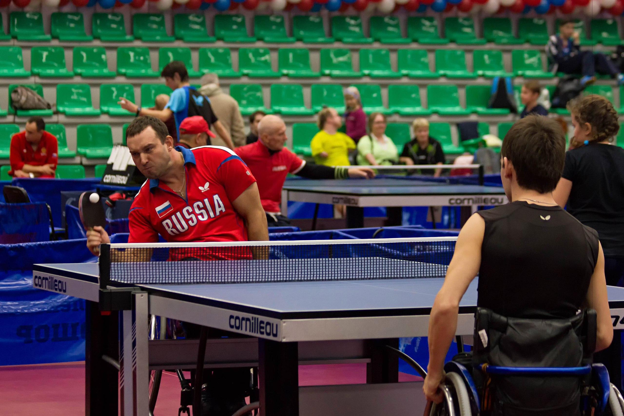 Рязанский колясочник стал призером Кубка РФ понастольному теннису