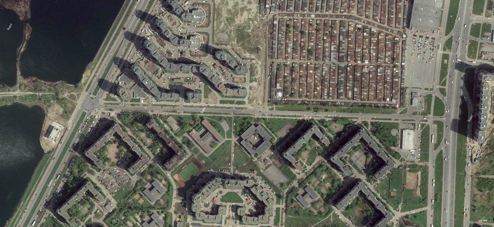 Спутниковый снимок. www.kupsilla.ru