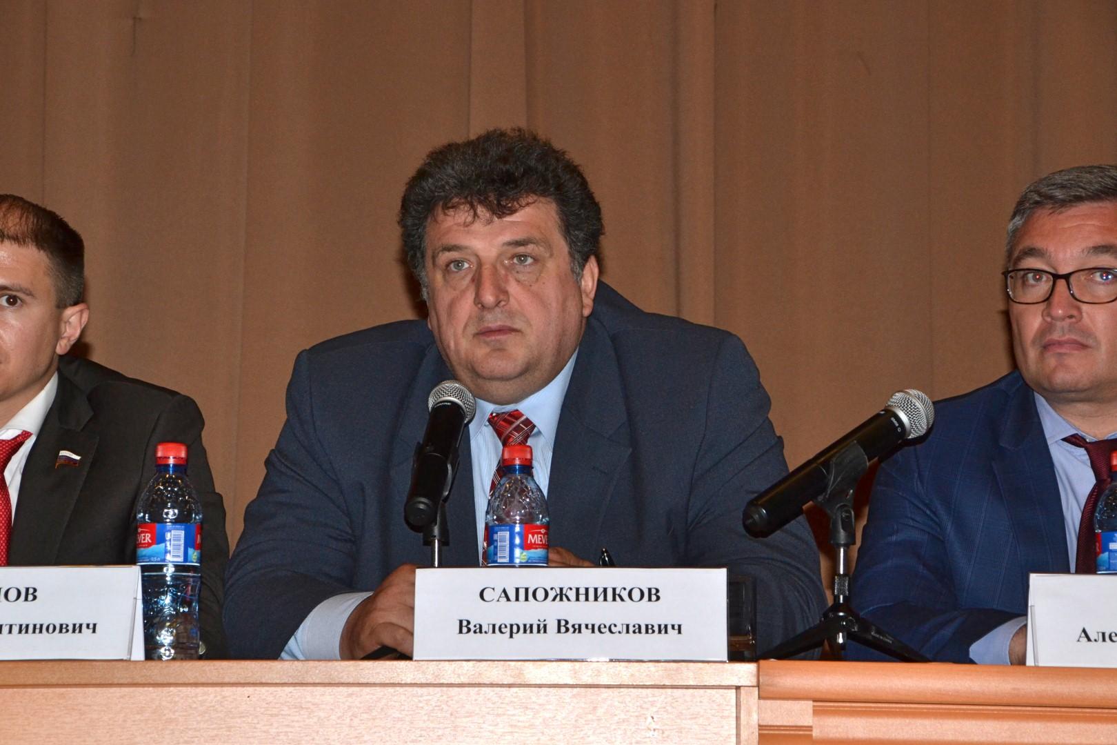 Валерий Сапожников