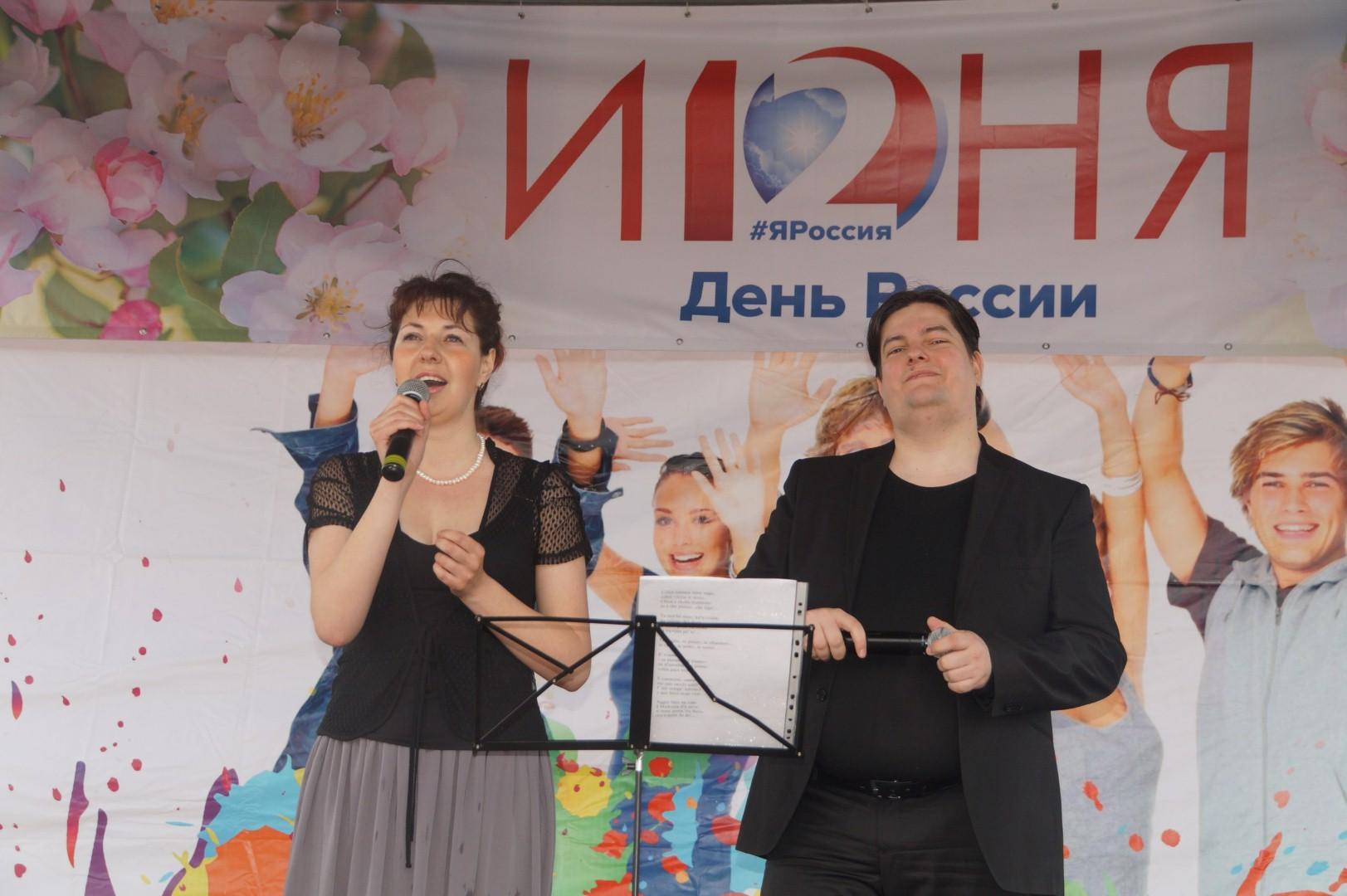 Дуэт Светланы Оршанской и Сергея Боголюбского