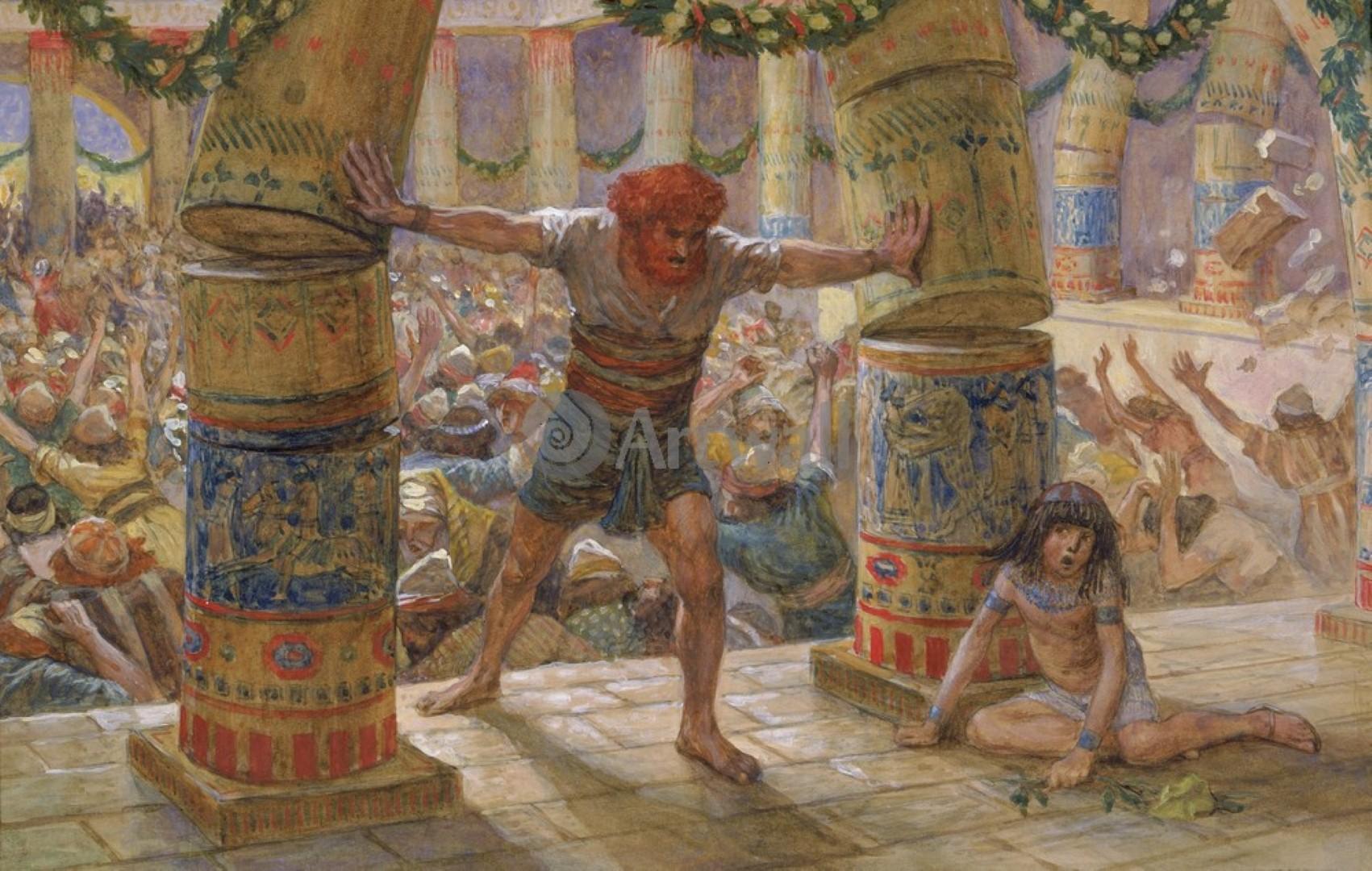 1662-0-Tisso-dzheyms-illyustracii-k-vethomu-zavetu-kartina-samson-rushit-kolonny (Large)