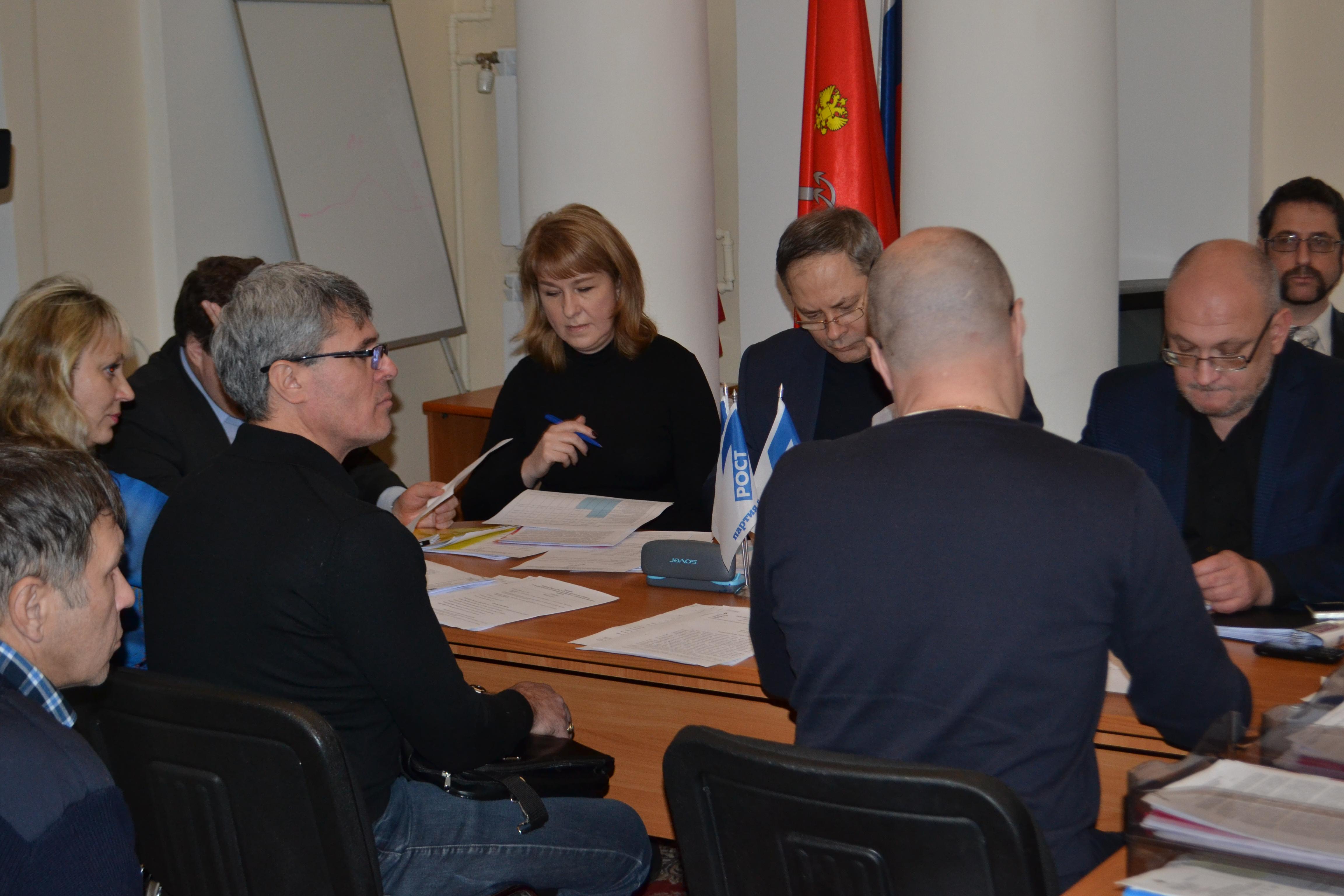 Обсуждение сделки в Мариинском дворце
