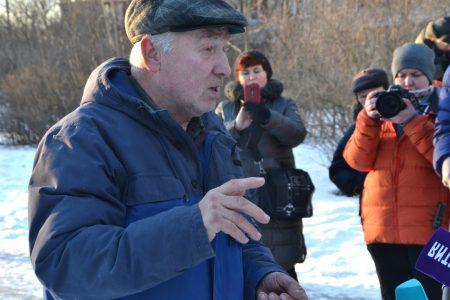 Народный сход в защиту старой купчинской голубятни